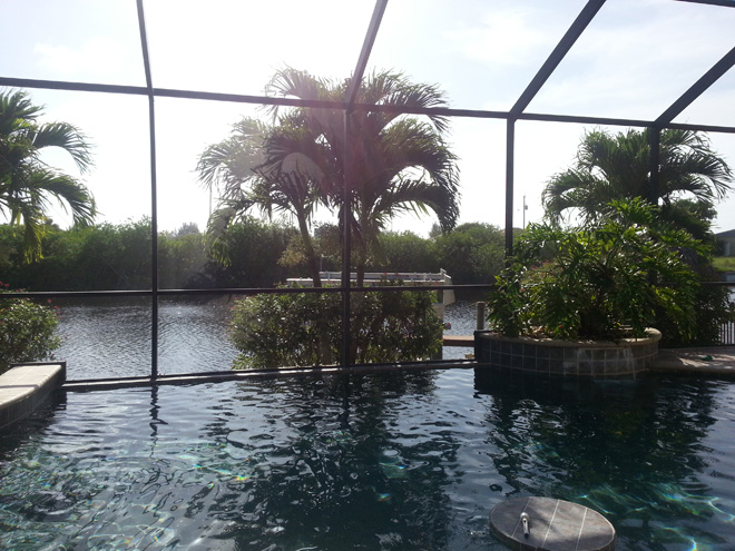 House Sand Dollar Florida Vacation Rental Home Cape Coral