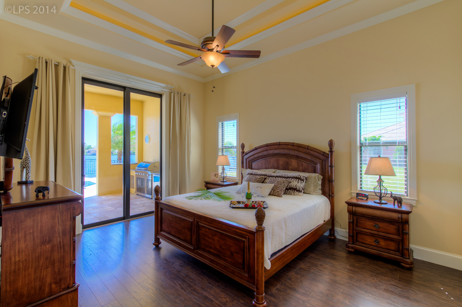 House Tuscany Master Bedroom